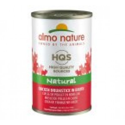 Almo Nature HQS Cuisses de poulet en bouillon Chat