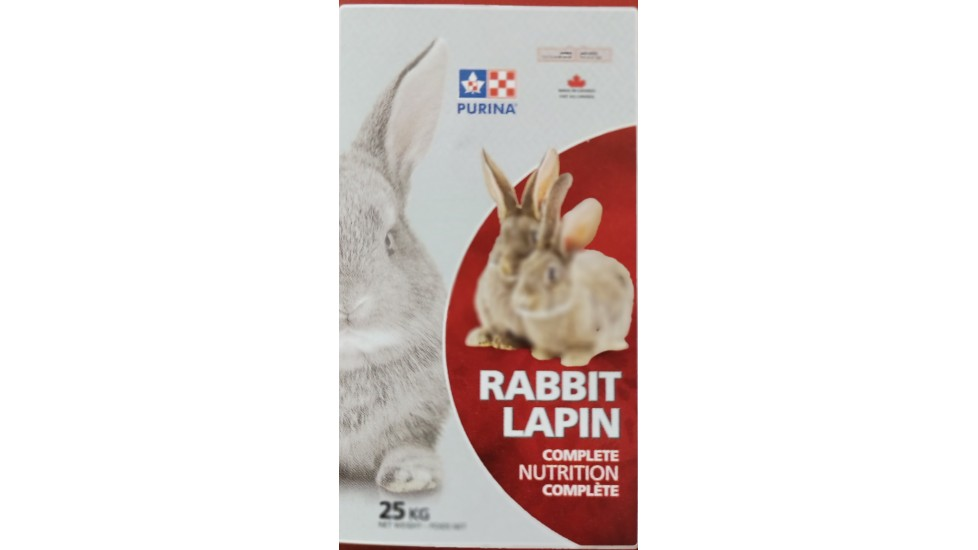 5318 PURINA LAPIN SOINS COMPLET  25KG