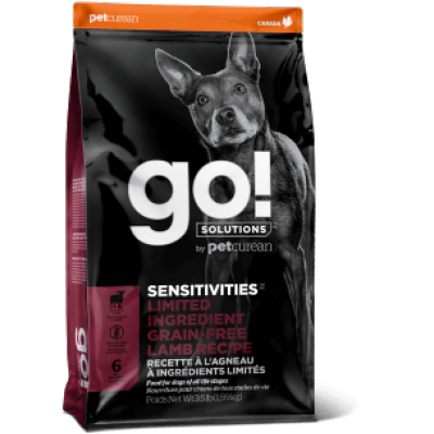GO Sensitives Agneau Chien
