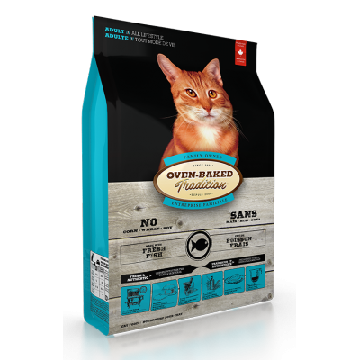 Oven-Baked Tradition Poisson pour Chat